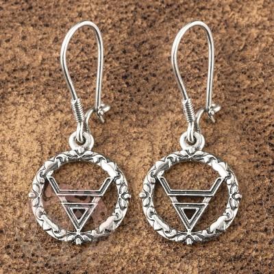 Серьги из серебра - символ Велеса