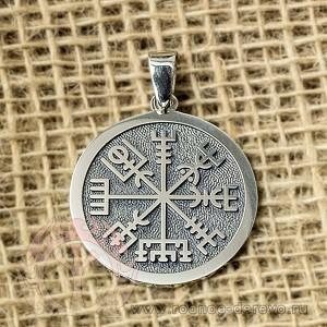 Рунический компас из серебра